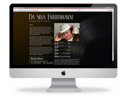 da-silva-website