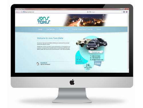 jonstaxis-website