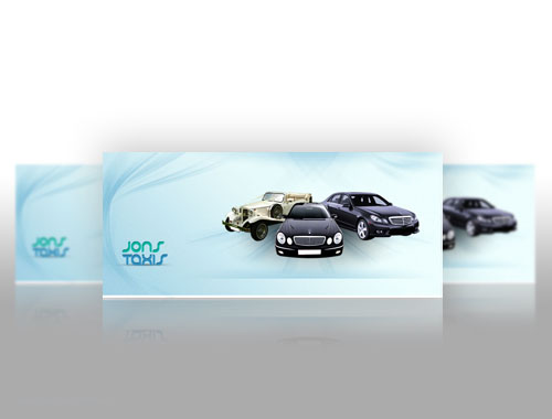 jons taxis facebook and website banners
